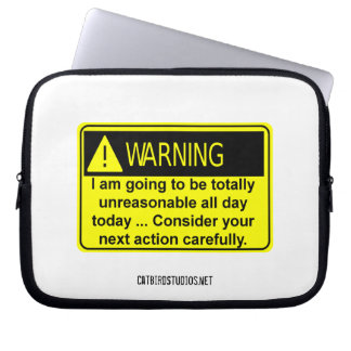 Totally Unreasonable Electronics Bag Laptop Sleeve