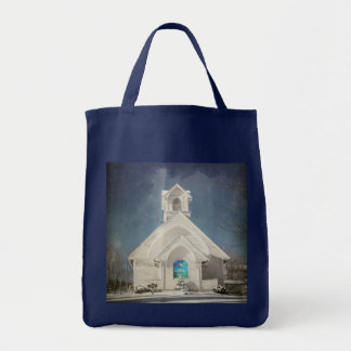 Tote Bag-Country Church