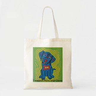 Tote bag fearturing pet art by Jeff Danford