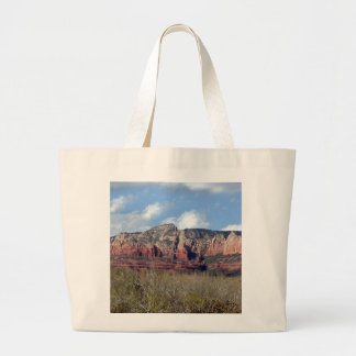 tote bag featuring photo of Arizona red rocks