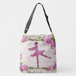 tote bag pink ballerina dancer music