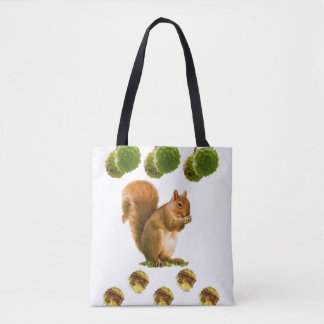 Tote Bag Squirrel
