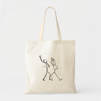 Tote bag with two Flamenco dancers