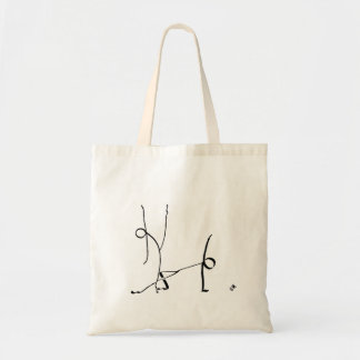 Tote bag with two Jazz dancers