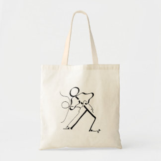 Tote bag with two Salsa dancers