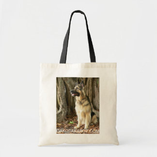Tote can hold towels, dog treats and water bottle.