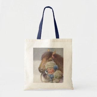 Tote Treat Vintage Childs Pet Pony Sweet Gift Bag