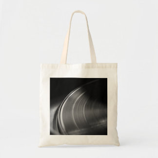 ToteBag: Vinyl Record and Turntable Tote Bag
