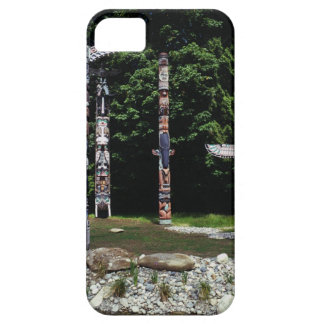 Totem poles, Vancouver, British Colombia iPhone 5 Case