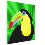 Toucan Art Gallery Wrapped Canvas