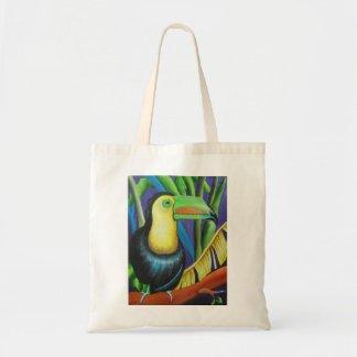 Toucan Bird Design Tote Bag