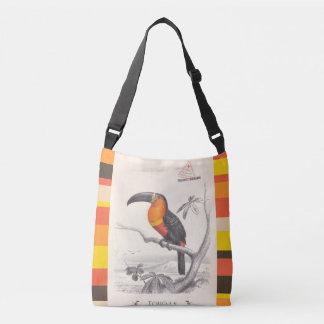 Toucan Bird Responsible Travel Art Crossbody Bag