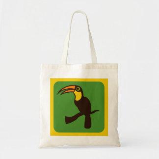 Toucan Budget Tote Bag