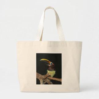 Toucan gift large tote bag