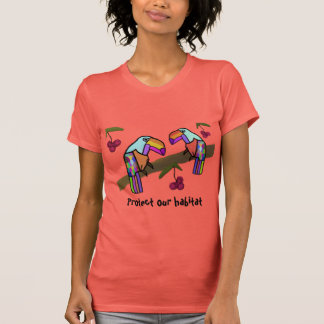 Toucan Habitat T-shirt Tee Shirts