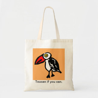 Toucan if you Can Tote Bag