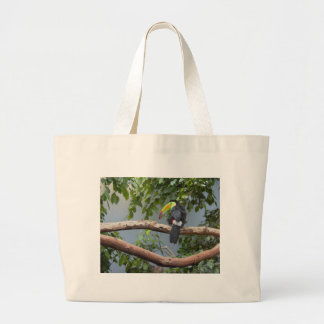 Toucan in a Tree Large Tote Bag