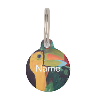 Toucan Pet Nametags