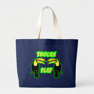 Toucan Play Large Tote Bag