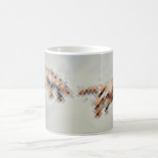 touch basic white mug