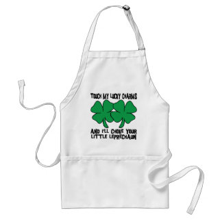 Touch My Lucky Charms - I'll Choke Your... Standard Apron