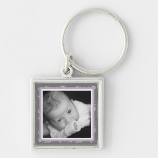 Touch of Class Purple Key Chain