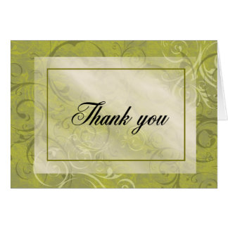 Touch of Elegance - Thank you Note Card