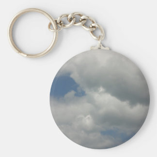 Touch of Nature Basic Round Button Key Ring