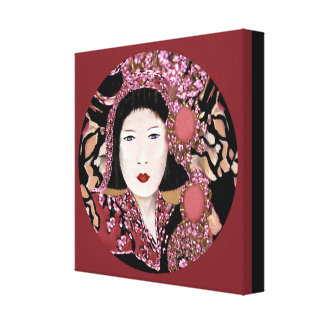Touch of Orient by Lin Masters Canvas Print