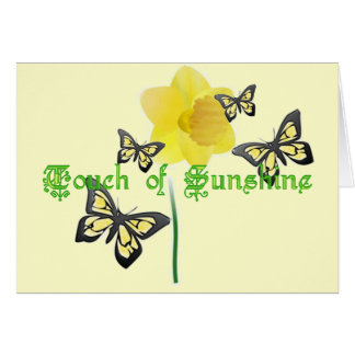 Touch of Sunshine Note Card