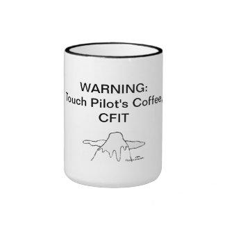 Touch Pilot's Coffee, CFIT (acronym) Ringer Mug