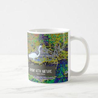 touch the earth basic white mug