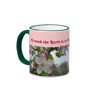 touch the Earth mug