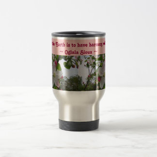 touch the Earth travel mug
