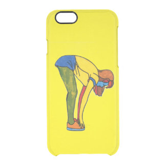 Touch toe iPhone 6/6s Clearly™ Deflector Case