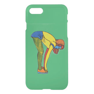 Touch toe iPhone 7 Clearly™ Deflector Case