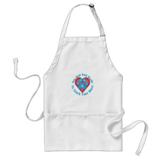 Touch Your Heart Standard Apron
