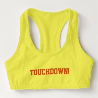 Touchdown Football Women's Sports Bra
