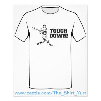 Touchdown Homerun Baseball Football Sports Flyer