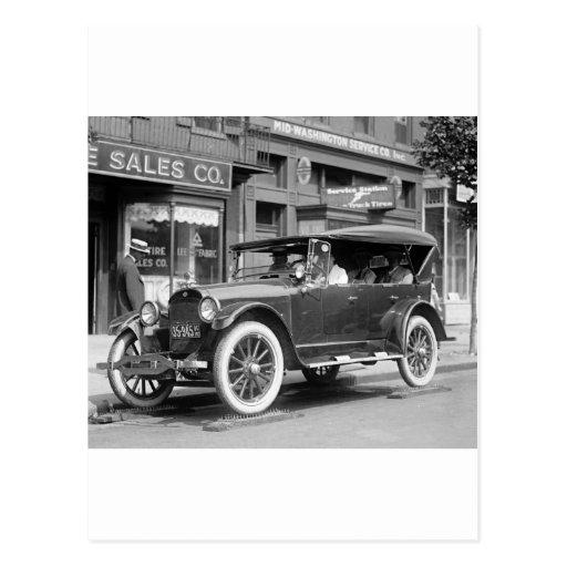 Tough Tires, 1922 Postcards