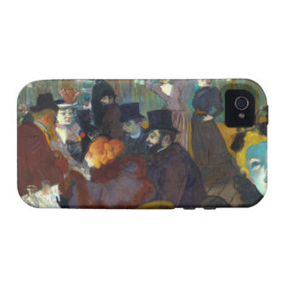 Toulouse-Lautrec Rouge Case-Mate iPhone 4 Cases