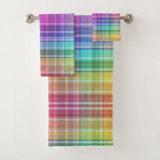 Towel Set - Rainbow Madras