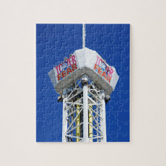 Tower of Fear Seaside Heights New Jersey Shore Jigsaw Puzzle
