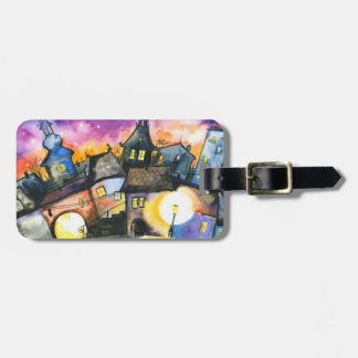 Town Luggage Tag