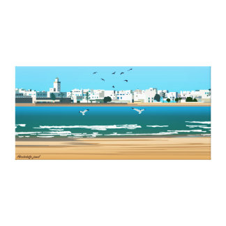 Town of Essaouira-Morocco Canvas Print