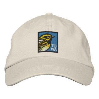 Townsend's Warbler (non-distressed) Embroidered Hats