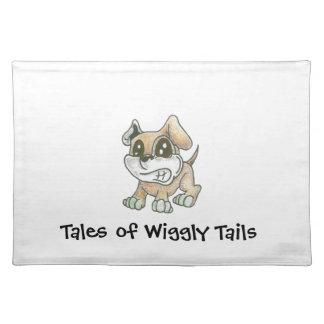 TOWT Mascot Dog Placemat