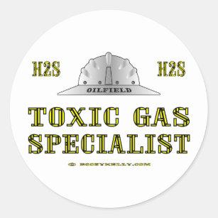 sports shoes dc0f2 a5436 Toxic Gas Specialist, Oil Field Sticker
