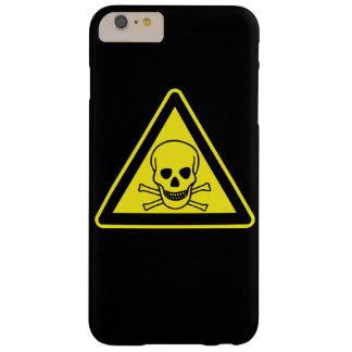 Toxic Hazard Symbol Barely There iPhone 6 Plus Case