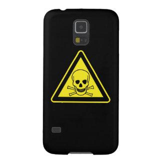 Toxic Hazard Symbol Cases For Galaxy S5